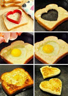 アメリカの定番朝食♡「ホールインザエッグ」って知ってる?   4meee!