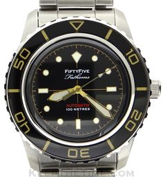 Seiko 5 Fifty Five Fathoms Automatik SNZH55 Mod