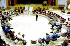 Open Space Technology (OST) is an approach for hosting meetings, conferences, corporate-style retreats, and community summit events, focused on a specific and important purpose or task—but beginning without any formal agenda, beyond the overall purpose or theme.