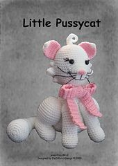 Little Pussycat pattern by Marike van Loo