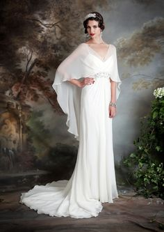 Eliza Jane Howell - Elegant Art Deco Inspired Wedding Dresses | Love My Dress® UK Wedding Blog                                                                                                                                                                                 More