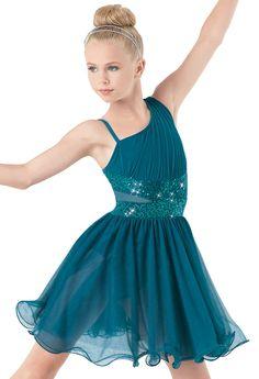 Weissman™ | Asymmetrical Soft Tulle Dress