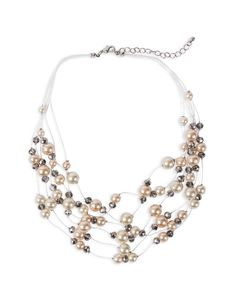 Food, Home, Clothing & General Merchandise available online! Multi Strand Pearl Necklace, Mother Day Wishes, Pearls, Silver, Jewelry, Jewlery, Jewerly, Beads, Schmuck