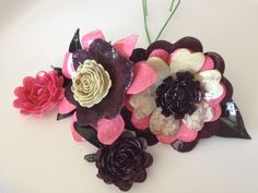 UTEE dipped flowers