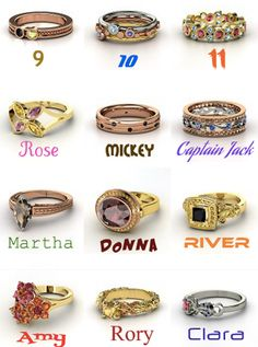 Doctor Who rings! :D
