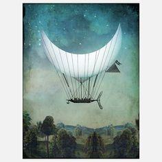 Moonship by  Catrin Welz-Stein