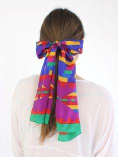 fun scarf usage