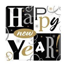 AMSCAN - Yeni Yıl Partisi Peçete