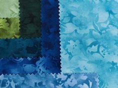 Buy 2 Get 1 Free - Robert Kaufman Fusions Bloom Charm Square - Multi