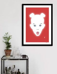 Discover «Glowing - Adele», Numbered Edition Fine Art Print by rob art | illustration - art | decor | wall art | inspiration | contemporary | home decor | idea | humor | gifts