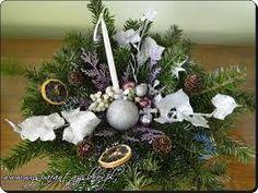 Znalezione obrazy dla zapytania jak zrobić stroiki na święta