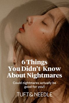 Nightmares are still a huge source of mystery, but there are a few things we know for sure. Learn 6 things you probably didn& know about nightmares.