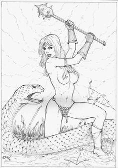 https://jeanartes.deviantart.com/art/Red-Sonja-651504057