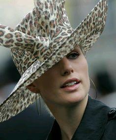 Zara Phillips, she wears hats so well!