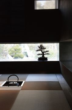 Japanese modern tea room