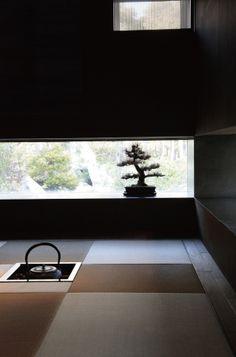 Japanese modern tea room