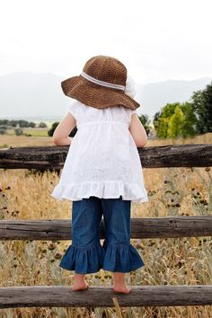 Country Style Lil' Girl..., OMGGGG I can picture my grand daughter in this ~<3