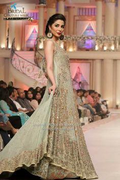 erum khan pakistani designer on pentene bridal coutour week