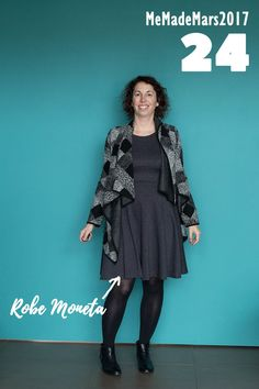 Me Made Month de Mars jour 24 : robe Moneta de Colette Patterns Motifs Colette, Colette Patterns, Blog Couture, Marie, Punk, Style, Fashion, Sons, Sewing
