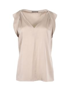 e64af8e2a2f63 Like this Elie Tahari top  Sand Silk Top by Elie Tahari. SilkRoll