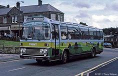 The old livery of the trent trans-peak service Tow Truck, Trucks, Bedford Buses, Bus Coach, Derbyshire, Nottingham, Coaches, Transportation, Old Things