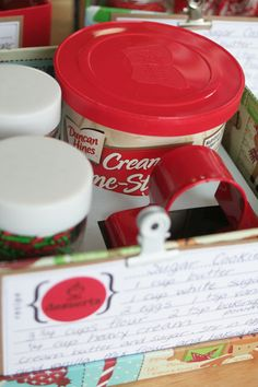 Christmas Cookie Making Gift. Cute idea for college student.