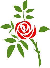 Resultado de imagen para rose stencil