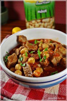 mancare de porc cu naut Kung Pao Chicken, Quinoa, Food And Drink, Favorite Recipes, Cooking, Ethnic Recipes, Food Ideas, Recipes, Romania