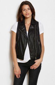 Moto Vest - Jackets & Blazers - Womens - Armani Exchange
