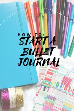 how to start a bullet journal, how should I start a bullet journal