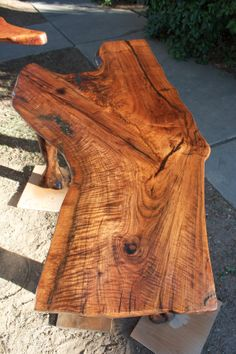 Black Walnut Table by MesquiteCreations on Etsy, $850.00