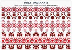 Romanian traditional motifs - OLTENIA, Dolj-Romanati