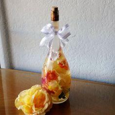 Thanksgiving Centerpiece Bottled Bouquet in Fall by BottledBouquet