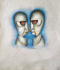 Ilustração The Division Bell, Pink Floyd. | Inspirarte