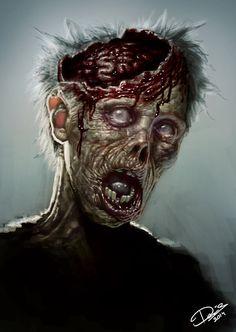 Discover the Best Horror Movies Art Zombie, Dead Zombie, Zombie Crafts, The Crow, Photomontage, Images Terrifiantes, Horror Movie Trailers, Apocalypse Art, Evil Demons