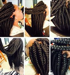 Jumbo box braids for tweens-THERE REALLY LONG BUT CUTE!!!!