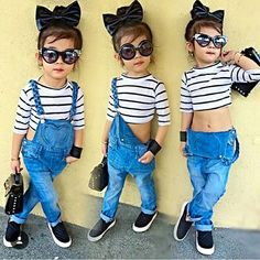 Stylish Baby Girls, Cute Baby Girl Outfits, Kids Outfits Girls, Cute Outfits For Kids, Toddler Girl Outfits, Stylish Kids, Cute Baby Clothes, Cute Kids Fashion, Little Girl Fashion