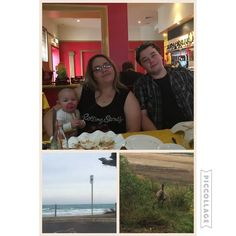 Today's adventure with my three favs. @joseph__nash @jamielouise93 #favs #dinner #food #destinationwarrnambool #warrnambool #live3280 #eat3280 #love3280 #family #bestfriends #highschoolbestfriends #bestfriends #towerhill #greatoceanroad #victoria #australia #myhome #picoftheday #photooftheday #instacollage by katharinegracex