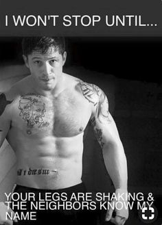 Oh lord Tom Hardy! Tom Hardy Shirtless, Tom Hardy Quotes, Tom Hardy Hot, Tommy Boy, My Tom, Hommes Sexy, Raining Men, Dream Guy, To My Future Husband
