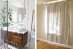 Antes y después de un dormitorio convertido en baño
