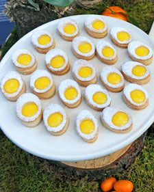 Puff Pastry Eggs - filled with yummy lemon curd!