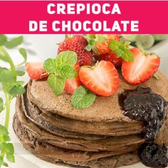 Nutella Crepes, Vegetarian Recipes, Cooking Recipes, Tasty, Yummy Food, Food Photography, Food And Drink, Dishes, Chocolate