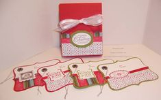 Top Note Tags and Gift Box Set... by bigsky - Cards and Paper Crafts at Splitcoaststampers