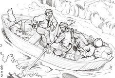 Três Homens Num Barco, de Jerome K. Jerome http://bicho-das-letras.blogspot.pt/2016/12/tres-homens-num-barco-jerome-k-jerome.html #livros #opinião #bookreviews #clássicos