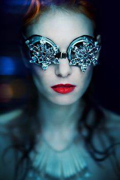 Simona Smrckova – FLAKE • Dark Beauty Magazine