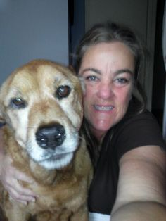 Chiona's last selfie. What an awesome dog. My life is better because of her. Thank you for all the fun times. xoxo