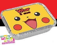 Marmitinha Personalizada Festa Pokemon
