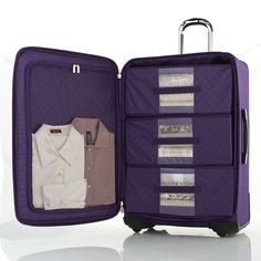 Exclusive: joy mangano shares genius packing hacks and a first look Suitcase Packing, Packing Tips For Travel, Travel Essentials, Packing Hacks, Luggage Sets, Travel Luggage, Travel Bags, Best Carry On Luggage, Travel Organization
