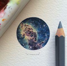 dibujos del universo