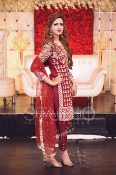 Umairish studio photography Pakistani Couture, Pakistani Bridal Wear, Pakistani Wedding Dresses, Pakistani Outfits, Indian Dresses, Indian Outfits, Bridal Dresses, Girls Dresses, Dulhan Dress
